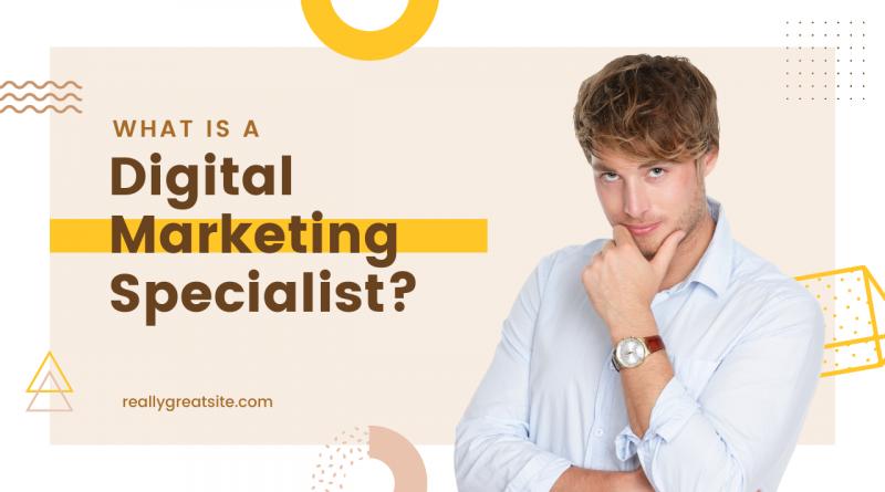 Digital Marketing Specialist - Cover